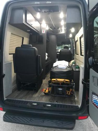 Long Distance Medical Transport  Interior